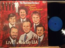 The Blackwood Brothers - Live In Music City USA NM VINYL LP SHRINK