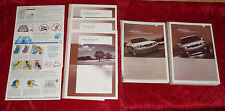 2004 Lincoln LS Owners Manual w/ Navigation Quick Guide & Case