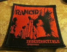 RANCID COLLECTABLE VINTAGE PATCH  WOVEN  ENGLISH PICTURE