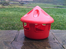3KG GRIT FEED STATION POULTRY HEN PIGEON GAME BIRD FEEDER 3 COMPARTMENTS