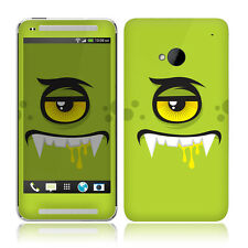 TaylorHe HTC One Skin Decal Vinyl Sticker Protection Cover Green Monster 2065