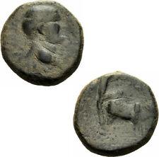 Vespasian Berytos Phönikien Bronze Koloniegründung Pflug Ochse Lituus RPC 2044