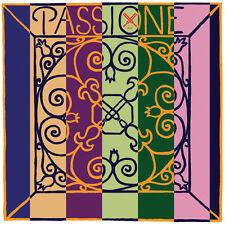 Pirastro Passione Solo 4/4 Violin E String - Silvery Steel - Medium - Ball End