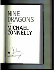 Michael Connelly signed 9 Dragons 1st printing hardcover book