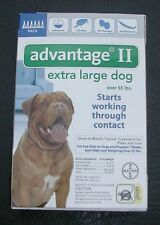 ADVANTAGE II for Extra Large Dogs over 55 lbs (6 PACK) !!! US EPA APPROVED !!!