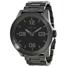 Nixon Corporal Black Ion-plated Mens Watch A346-001
