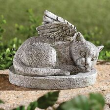 NEW ~ Cat Memorial Statue Garden Pet Angel