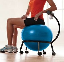 Exercise Ball Chair Balance Gaiam Stability Chairs For The Office Home Desk