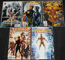Modern Wildstorm CAPTAIN ATOM: ARMAGEDDON 5pc Count High Grade Comic Lot #5-9 DC