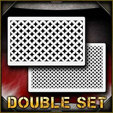 Diamond Pattern 2 Airbrush Stencil Template Airsick