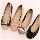 BN Soft Cute Wedding Bowed Comfy Darling Ballerinas Ballet Flats Shoes 4 Colors