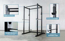 Rep Power Rack with Dual Pullup Bars, Numbered Uprights, 700 lb Rated