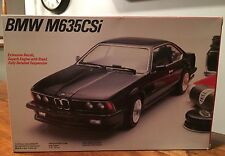 1:24 TESTORS FUJIMI BMW M635CSi Model Kit #371 NIB