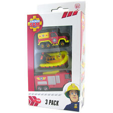 Fireman Sam Die-Cast Vehicle 3 Pack NEW