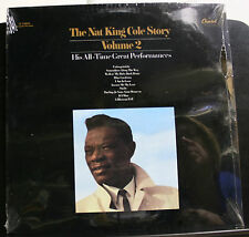 """RECORD NAT KING COLE STORY VOLUME 2 HIS ALL-TIME GREAT PERFORMANCES NEW """"SEALED"""""""