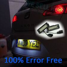ERROR FREE LED Number License Plate Light SEAT LEON CUPRA FR 18 SMD