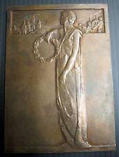 TCHECOSLOVAQUIE - JUBILE DE LA CHAMBRE COMMERCE DE PRAGUE 1908 - 89x64 mm 165 g