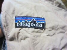 Vtg Patagonia. Big Tag.Fleece Lined Shell Jacket. Womens Kids 7/8 Made in USA.
