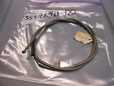 NOS 1977 Yamaha RD60 OEM Brake Cable Assembly 353-26341-00