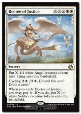 MTG Magic DDO - Decree of Justice/Décret de justice, English/VO