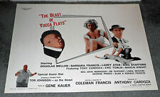 THE BEAST OF YUCCA FLATS original 1962 ROLLED 22x28 movie poster TOR JOHNSON