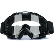 Adult Goggles Motorcycle Motocross Racing ATV Dirt Bike Off Road Eyewear Lens
