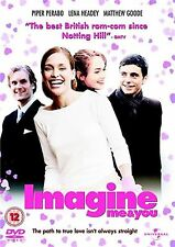 Imagine Me And You 2006 Piper Perabo, Matthew Goode, Lena Heady, NEW UK R2 DVD