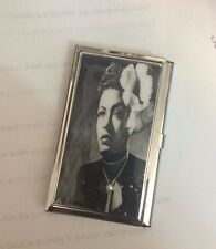Billie Holiday in Gardenia Business Card Holder Credit Card I.D. Case