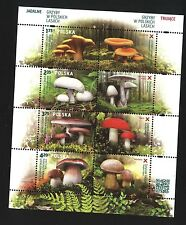 ** MNH Block / Special Sheet - POLAND 2014 - Mushrooms in Polish forests - FLORA