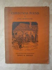 John Drinkwater. Christmas Poems, illustrated by Ernest H. Shepard.  1931.