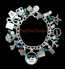 ~THE FAULT IN OUR STARS THEMED CHARM BRACELET~
