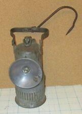 vtg 1913 DEWAR Brooklyn N.Y. Miners mining luminum carbide hand lamp