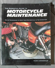 MOTORCYCLE MAINTENANCE ESSENTIAL GUIDE BOOK MARK ZIMMERMAN HONDA HARLEY TRIUMPH