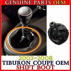 OEM MANUAL SHIFT 6 SPEED LEVER BOOT 1PC For 2003-2008 Tiburon Coupe 84640-2C200