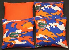 UNIVERSITY OF FLORIDA Gators Cornhole Bean Bags 4 ACA Reg UF Camo Corn Hole Bags