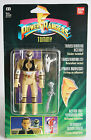 VERY RARE VINTAGE 1993 POWER RANGERS WHITE TOMMY FLIP HEAD BANDAI NEW MOSC !