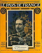 Portrait General Alexandre Averesco Alexandru Averescu maréchal Roumain 1917 WWI