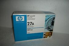 HP OEM 27A High Capacity Black Toner Cartridge 6K-Pages for 4000 4050 C4127A NEW