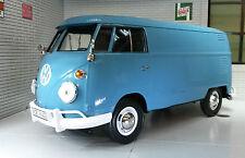 G LGB 1:24 Scale VW T1 Type 2 Blue Delivery Van Diecast Model Van 1962 79342