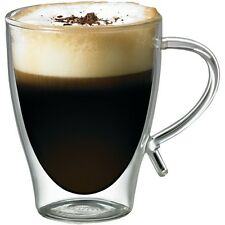 STARFRIT 080056-006-AMAZ 12-Ounce Double-Wall Glass Coffee Cup