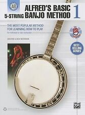 Alfred's Basic 5-String Banjo Method: The Most Popular Method for Learning How t