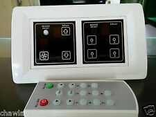 Touch Switches for 4 Lights 1 Fan with Remote Control Home Automation