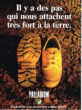 PUBLICITE ADVERTISING 054  1993  PALLADIUM  chaussures