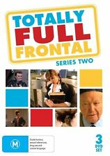TOTALLY FULL FRONTAL - SERIES 2 (3 DVD SET) BRAND NEW!!! SEALED!!!