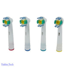 NEW 4 x Electric Tooth brush Heads Replacement for Braun Oral B 3D WHITE ACTION