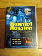 HAUNTED MANSION: Halloween Sounds, MUSIC & VIRTUAL SCENES DVD + CD! (2-DISC SET)