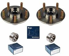 2004-2010 TOYOTA SIENNA Front Wheel Hub & (OEM) KOYO Bearing Kit Assembly (PAIR)