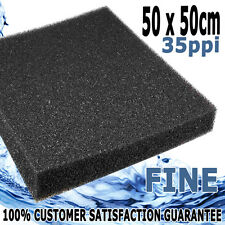 Biopro Aquarium Pond Fish Tank Biochemical Filter Foam Sponge Fine 35ppi 50cm