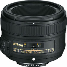 Nikon AF-S NIKKOR 50mm f/1.8G Lens for D5500 D7000 D7100 D610 D800 D750 NEW!