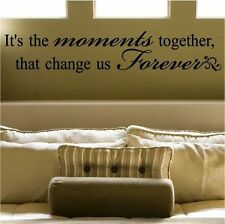 Moment Together DIY Home Decor Mural Removable Decal Room Wall Sticker Vinyl Art